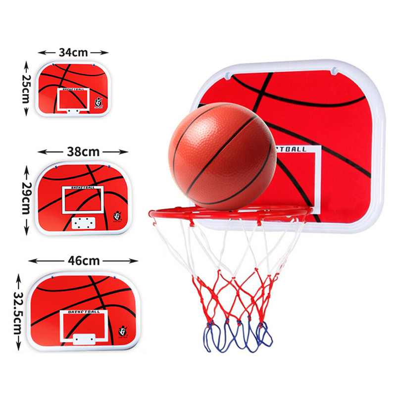 2020 Children's Game Basketball Rack Indoor Basket Goal Kick Basketball Board Family Children's Game Basketball Toy