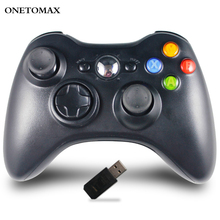 цена на 2.4G Wireless Gamepad For Xbox 360 Console Controller Controle for Xbox 360 Joystick For PS3 PC Android Phones Gamepad Joystick