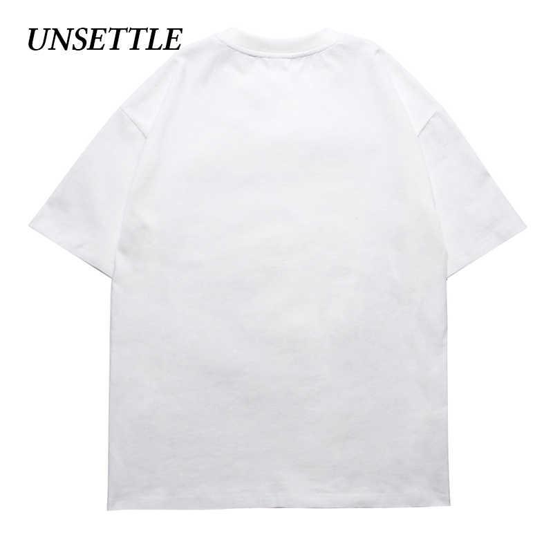 לזעזע Harajuku t חולצות קיץ מצחיק Tshirt גברים/נשים היפ הופ אופנה ורוד הדפסת עיצוב Streetwear חולצות קצר שרוול טי