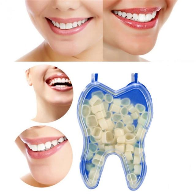 Realistic Dental Crowns Oral Teeth Whitening Anterior Molar Crown Dental Crowns Resin Porcelain Temporary Teeth Crown