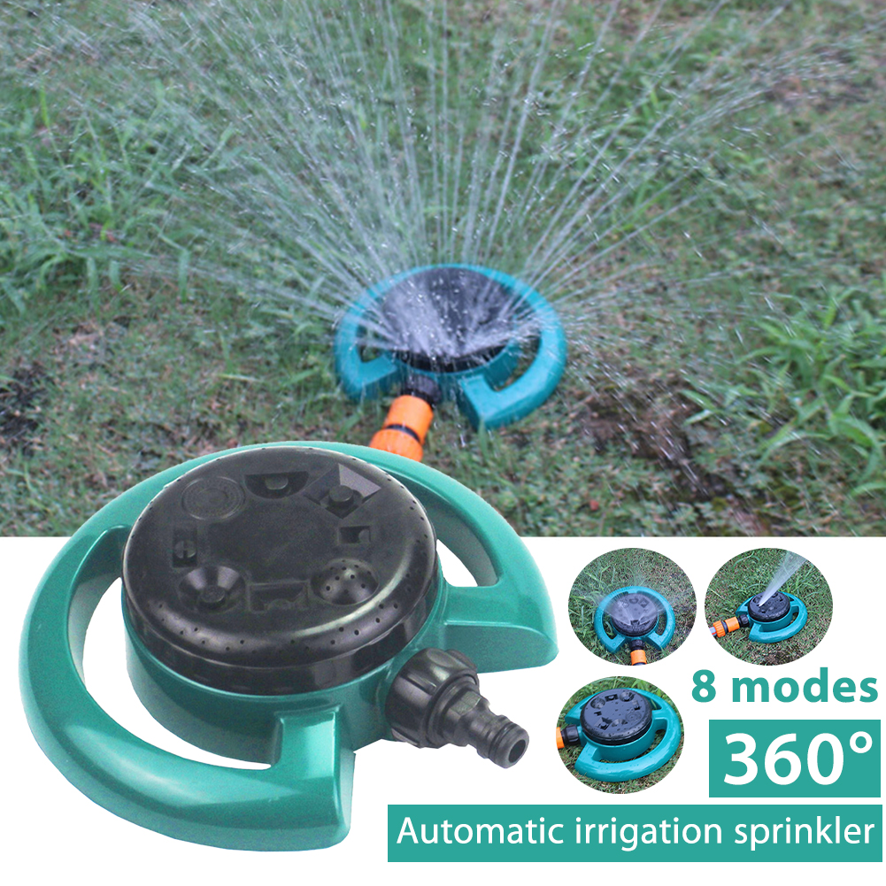 Lawn Irrigation ABS Garden Sprinkler 360 Degree Spray Dust Removal Cooling Outdoor Wear Resistant Agriculture Automatic Watering