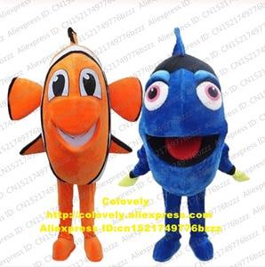 Dory Nemo Clown Fish Mascot Costume Adult Cartoon Character Outfit Suit VOGUE Popular Symbolic Ambassador CX044 Free Shiping