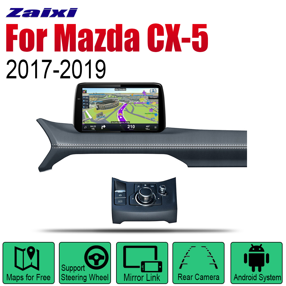 Auto Player GPS <font><b>Navigation</b></font> For Mazda CX-5 2017 2018 2019 Car <font><b>Android</b></font> Multimedia System <font><b>Screen</b></font> Radio Stereo image
