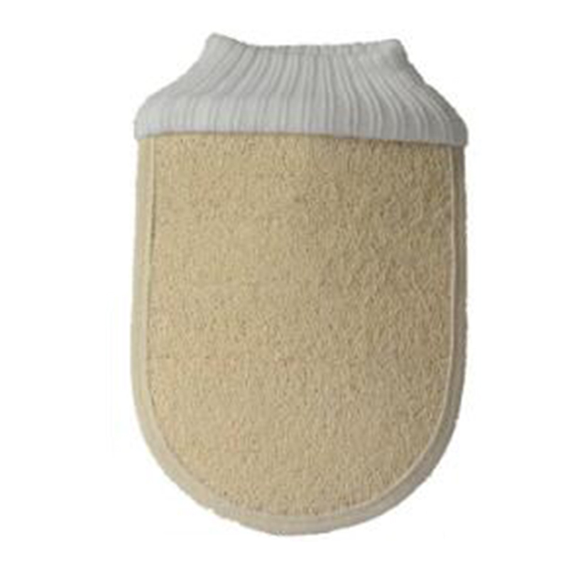 1pc De-stressing Shower Spa Exfoliator Bath Glove Body Cleaning Rub Dead Skin Removal Bath Brush Bathroom Supplies