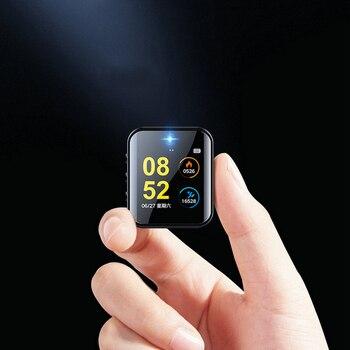 Mini Digital Camera 1080P Smart Watch HD Video Recording Micro Cam Blue Tooth Sports Pedometer Voice Recorder Business Wristband
