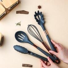 Silicone stir-fry spatula non-stick pot special food-grade pot shovel fried spoon spoon heat-resistant kitchen kit