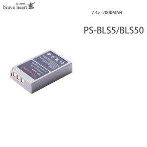 Image 2 - 2000mAh PS BLS5 BLS 5 BLS5 BLS 50 BLS50 Battery for Olympus PEN E PL2,E PL5,E PL6,E PL7,E PM2, OM D E M10, E M10 II, Stylus1