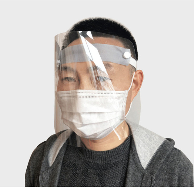 Full Face Mask Protective Mask Anti-fog Mask Windproof Face Mask Anti-dust Cooking Oil Splash Mask High Quality 2