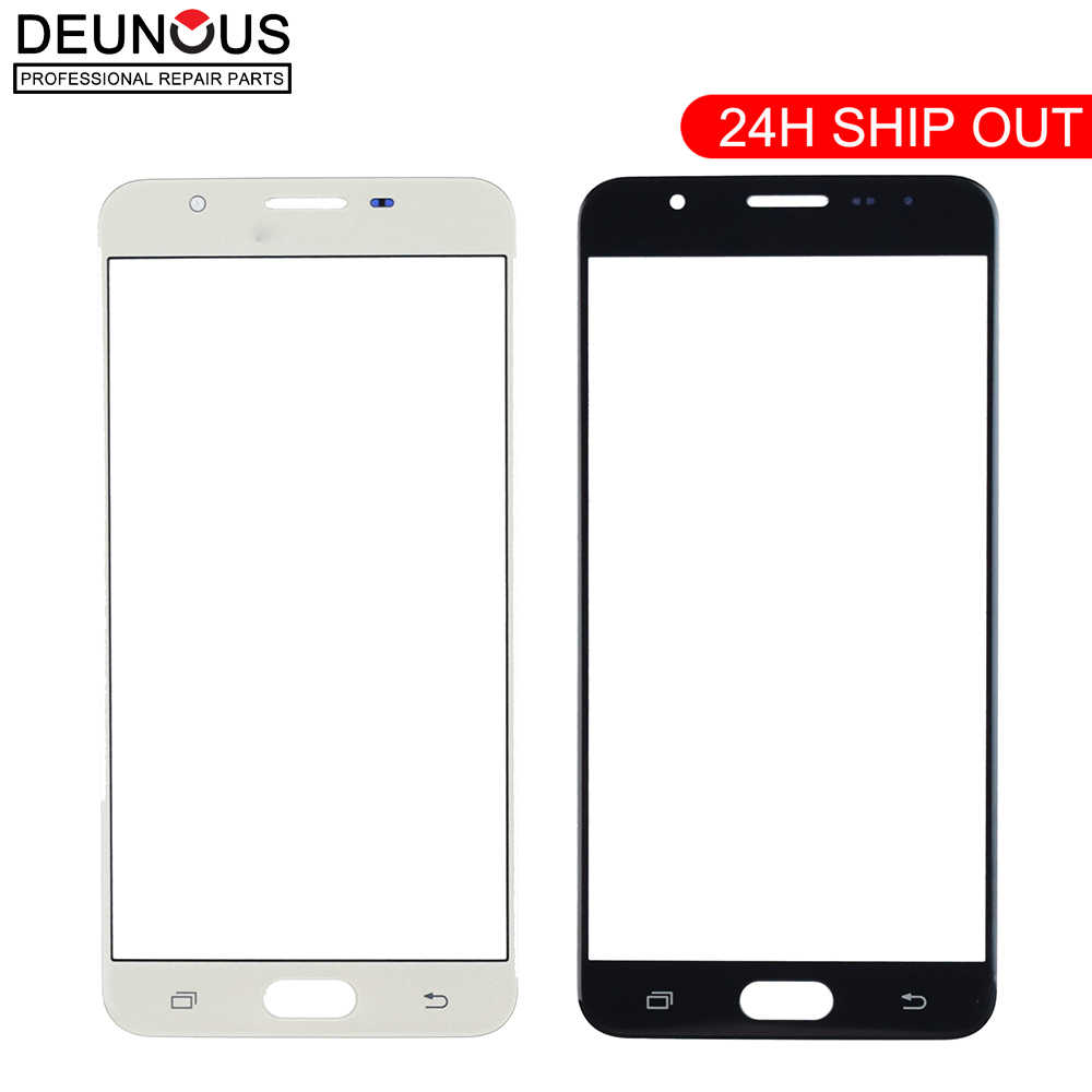 Original Touch Panel Für Samsung Galaxy J7 Prime G610 On7 Touchscreen (keine Digitizer) front Outer Glas Objektiv touchscreen