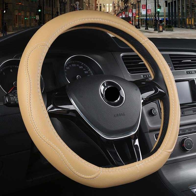 車のステアリングホイールカバー D 形状のためのフィアット 500l 500x albea で bravo doblo で ducato fiorino linea