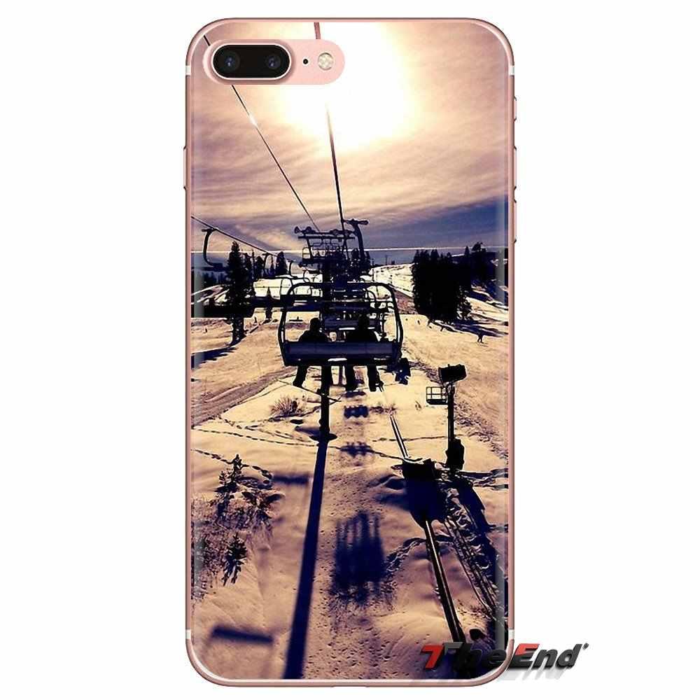 Telefon kılıfı LG kılıfı ruhu Motorola Moto X4 E4 E5 G5 G5S G6 Z Z2 Z3 G2 G3 C oyun artı Mini kar veya kalıp kayak Snowboard spor