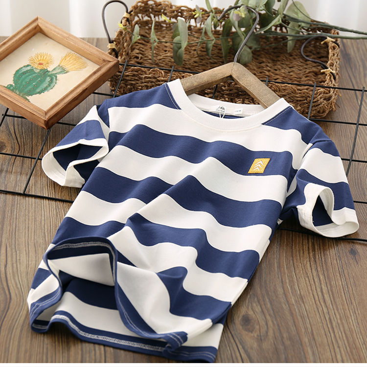 VIDMID Kids Boys T-shirt Summer Baby Boys Cotton Tops Toddler Tees Clothes Children Clothing T-shirts Short Sleeve Summer P111 2