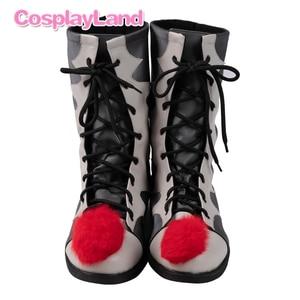 Image 4 - Stephen King S Het 2 Cosplay Kostuum Het Dancing Clown Pennywise Volledige Pak Halloween Party Terreur Movie Cosplay Outfit Laarzen