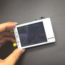 Mini Analizador de antena del analizador de red vectorial NanoVNA, 50KHz 300MHz, 2,8 pulgadas, LCD táctil HF VHF UHF, Analizador de antena