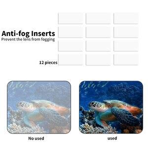 Image 5 - Para Gopro accesorios Set go pro hero 8 kit EVA carcasa película templada impermeable funda carcasa filtro rojo marco silicona Protector