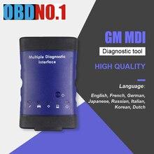 ForGM Interfaz de diagnóstico múltiple MDI, V2020.3, WIFI, multilenguaje, escáner ForOpel Tech2Win GDS2