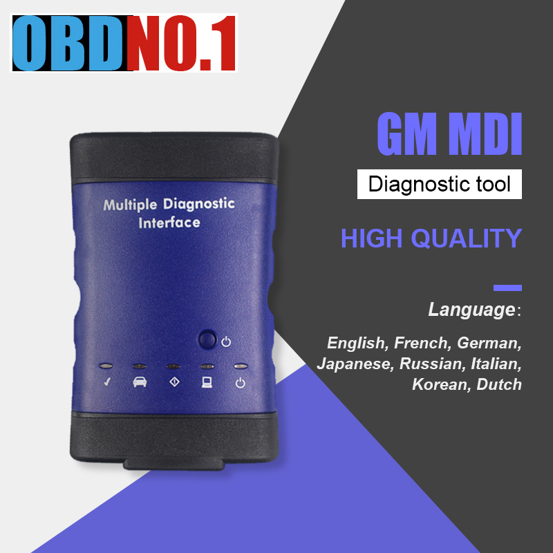 Newest V2018.09.2 forGM MDI Multiple Diagnostic toolInterface OBD2 WIFI USB Scanner Multi-Language For Opel Scanner
