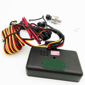 Image 3 - 3In1 Auto Öl Manometer 1/8 NPT + Voltmeter + Wasser Temperatur Gauge Meter mit M10 Sensoren
