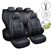 Car Seat Cover Set Car Covers Auto for Ford Everest Fiesta Mk4 Mk6 Mk7 2014 Focus 1 2 3 Mk1 Mk2 Mk3 2005 2006 2007 2009 2017