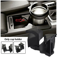 Center Console Car Accessories Bottle Cup Holder Decoration Insert Divider Vehicle Mounted Wear Resistant Interior For W204