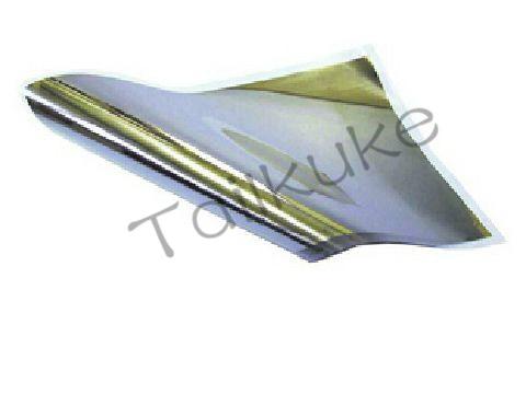 PVDF Piezoelectric Film A4 Silver-plated Copper-Nickel 28um 110um Arbitrary Shear Polarization Film