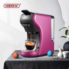 HiBREW-cafetera expreso 3 en 1 de 19 Bar, cápsula múltiple, compatible con cápsula Dolce gusto Nespresso