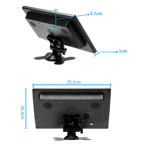 Image 3 - 10.1 inch 1366x768 Portable Monitor with VGA HDMI BNC USB input for PS3/PS4 XBOX360 Raspberry Pi Windows 7 8 10 System