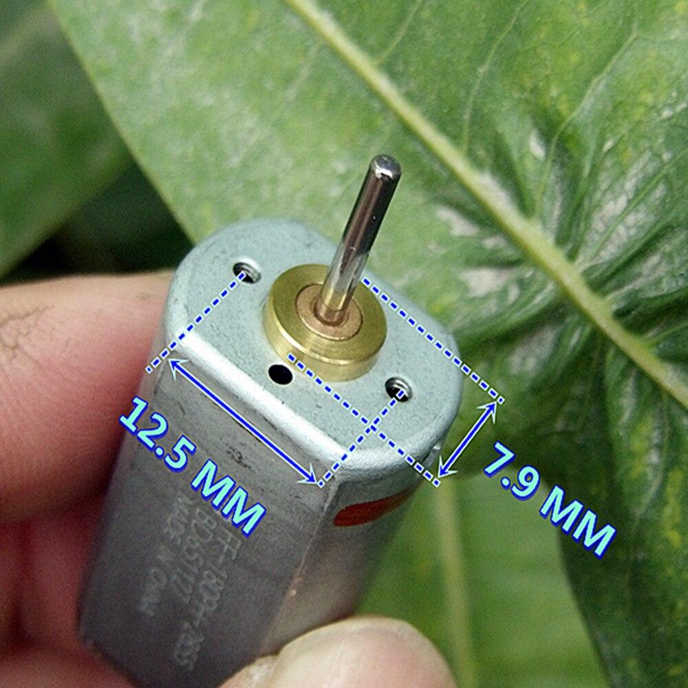 Mabuchi Metall Pinsel Elektrische 180 Motor DC 3V-6V 19500RPM Micro Mini Spindel Motor Große Drehmoment hohe Geschwindigkeit DIY Spielzeug Boot Auto Teile