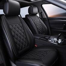 Waterdichte Lederen Auto Seat Cover Protector Mat Universele Front Backret Ademend Auto Van Auto Zitkussen Protector Pad
