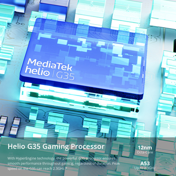 "realme C21 Smartphone Global Version Helio G35 Octa Core 3GB RAM 32GB ROM 6.5"" inch display 5000mAh Large battery 3-Card Slot 5"
