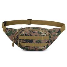 Mens Tactical Waist Bag Outdoor Fanny Pack Phone Pouch Belt Shoulder Bags Chest Bumbag