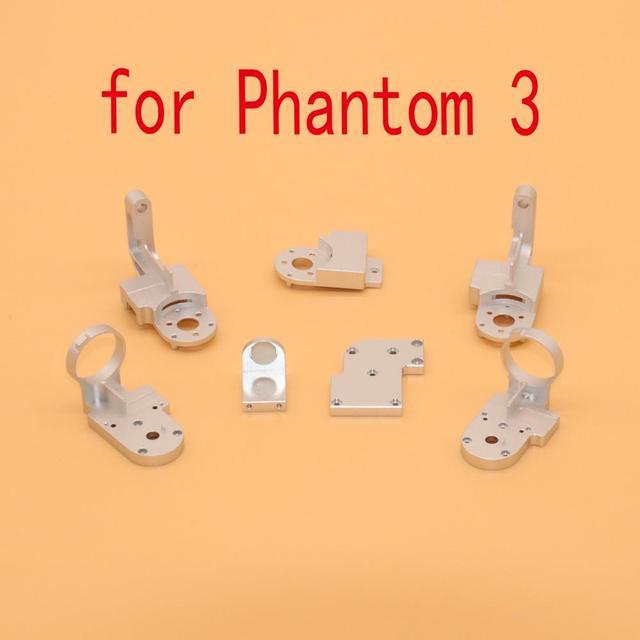 Piezas de reparación Gimbal partes guiño brazo de soporte de rodillo con tornillo para DJI Phantom 3 3A 3P 3S Drone Gimbal accesorios de repuesto de piezas
