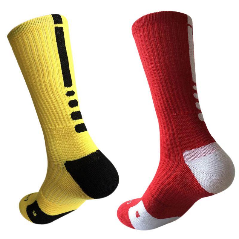 Супер Элитные 2020 хлопчатобумажные баскетбольные длинные носки для работы с лодочкой, ходьбы, пешего туризма, спортивные мужские забавные в...