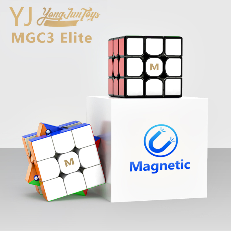 Yongjun MGC3 Elite 3x3 Magnetic Magic Cube Professional YJ MGC 3 Elite Puzzle Magnets Speed Cubes Stickerless Cubo Magico 3X3X3