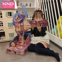 Niuniu Papai Genuíno Grande 3D Puzzles Iluminismo Inglês História Livro de Imagens Para Desenvolver Mão Do Bebê Dois Estilos Para O Presente Das Crianças