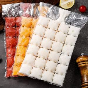 Bag Mold Ice-Cube-Bags Self-Sealing Disposable 10pcs/Pack Kitchen-Gadgets Faster Transparent