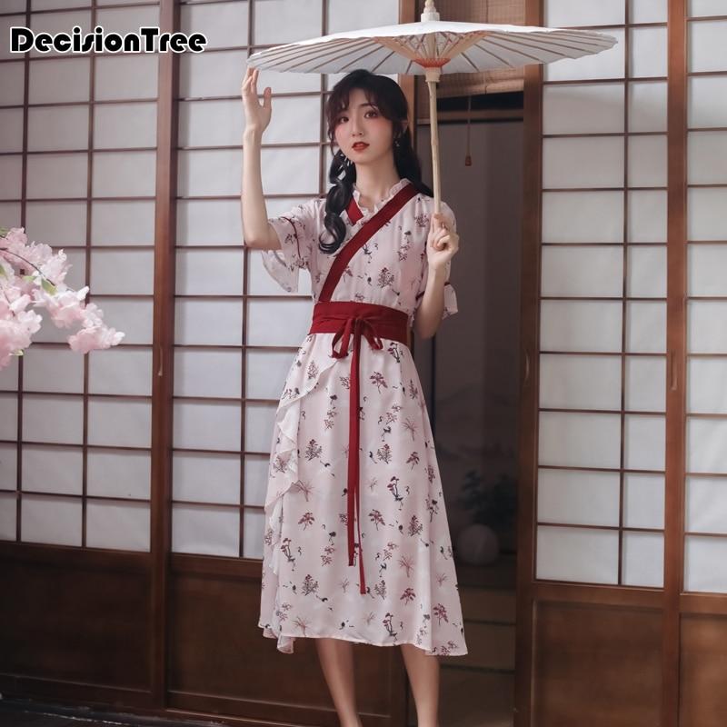 2019 Kimono Japanese Kimono Mujer Yukata Japan Kimono Dress Cosplayjapanese Clothes Traditional Japanese Kimonos Kimono