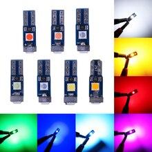 RXZ 1000 PIÈCES T5 LED W1.2W LED 3030 LED très brillante LED CALE TABLEAU DE BORD Auto Lampe Dinstrument 12V rose ROUGE Jaune vert iceblue bleu