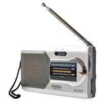 Antena telescópica portátil am/fm, rádio am/fm, receptor estéreo de bolso, para idosos