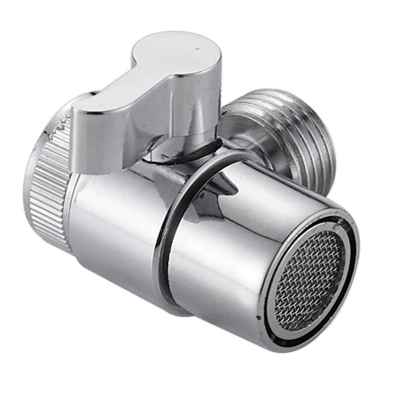 1 pcs faucet valve diverter sink valve water tap faucet splitter adapter for home bathroom kitchen diverter
