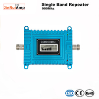 Lcd display 2G GSM Repeater Zellulären Handy Handy Signal Booster Verstärker 900 MHZ/WCDMA/3G UMTS 900 MHZ für den heimgebrauch-in Signal-Booster aus Handys & Telekommunikation bei
