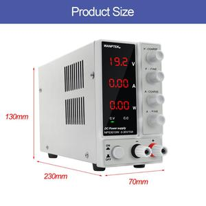 Image 4 - NPS3010W Labor Netzteil 30V10A Strom Regler Schalter Netzteil Einstellbar Spannung Regler Bank Quelle Digital