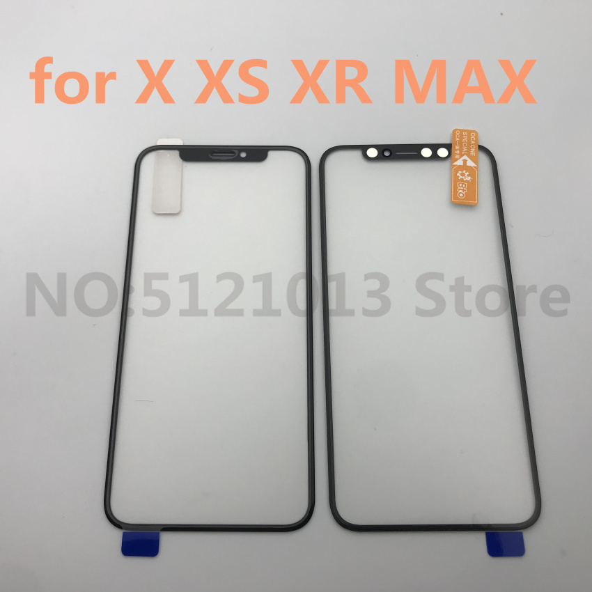Original LCD Front Screen Outer <font><b>Glass</b></font> Len with OCA Assembly for <font><b>iPhone</b></font> <font><b>X</b></font> XS XR XS MAX Touch Panel <font><b>glass</b></font> Replacement <font><b>Repair</b></font> Parts image