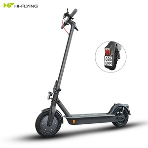 Eco-flying EU Warehouse New Innovations Germany ABE Approved 10 inch 2 Wheel Folding Electric Scooter for Adult