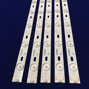 Image 1 - 100%New KONKA KL32GT618 LED backlight 35017727 10leds 64.4cm 1set=2 pieces