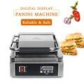 1800KW сэндвич-машина из нержавеющей стали электрическая машина для Панини Panini гриль машина цифровой Dispiay коммерческий