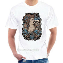 MADAME PLANCHETTE T shirt pirate medium tarot skull crown gothic baroque gig poster paranormal @067473