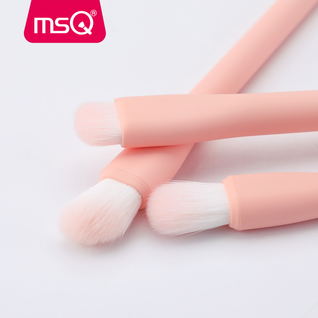 MSQ Eyeshadow Brush 6PCS Makeup Brushes Set Blending Eyebrow Lip Eye shadow Brush Synthetic Hair Cosmetic Make Up Tool Kits 5