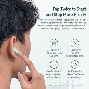Image 4 - Baseus Bluetooth אוזניות W09 TWS Bluetooth 5.0 אוזניות אלחוטי דיבורית אוזניות סטריאו HD מדבר Auriculares Bluetooth