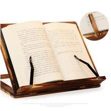 EINFACH-Faltbare Rezept Buch Stehen, Holz Rahmen Lesen Bücherregal, Tablet Pc Unterstützung Stehen